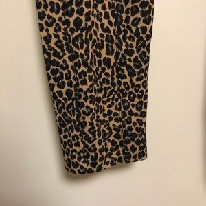 Old Navy Pants - Old Navy Cheetah Stevie Pants